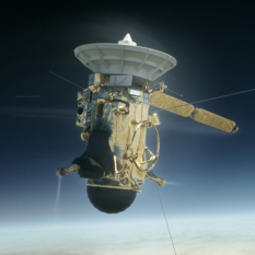 Cassini enters Saturn's atmosphere