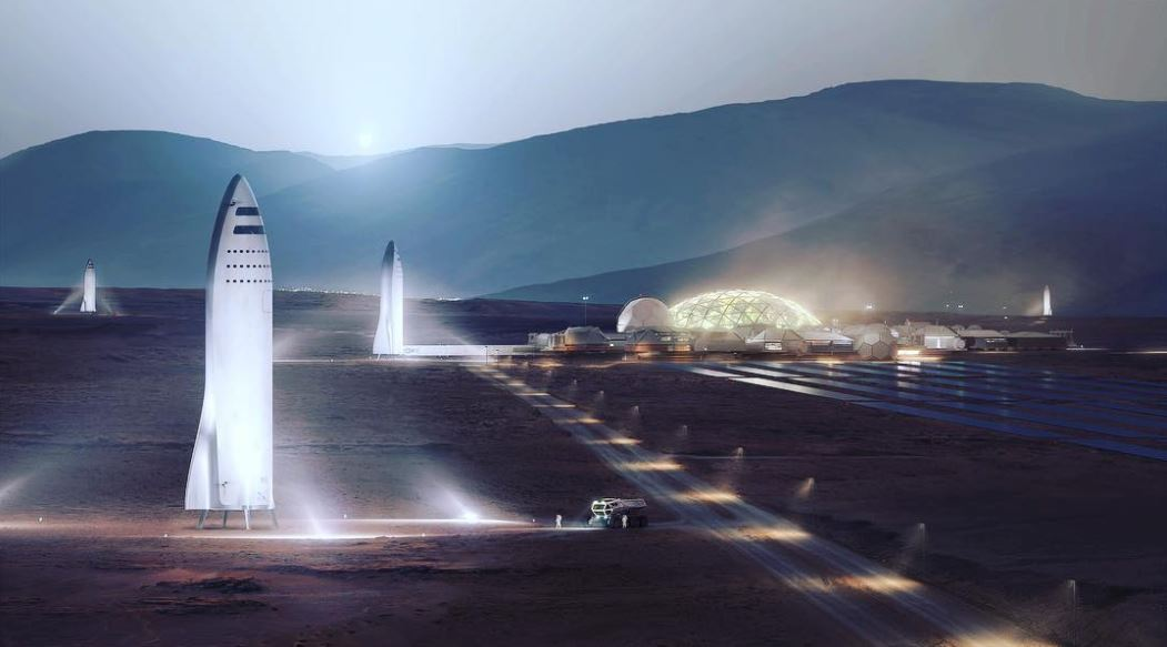 Spacex Ceo Elon Musk Updates Mars Colonization Plans The
