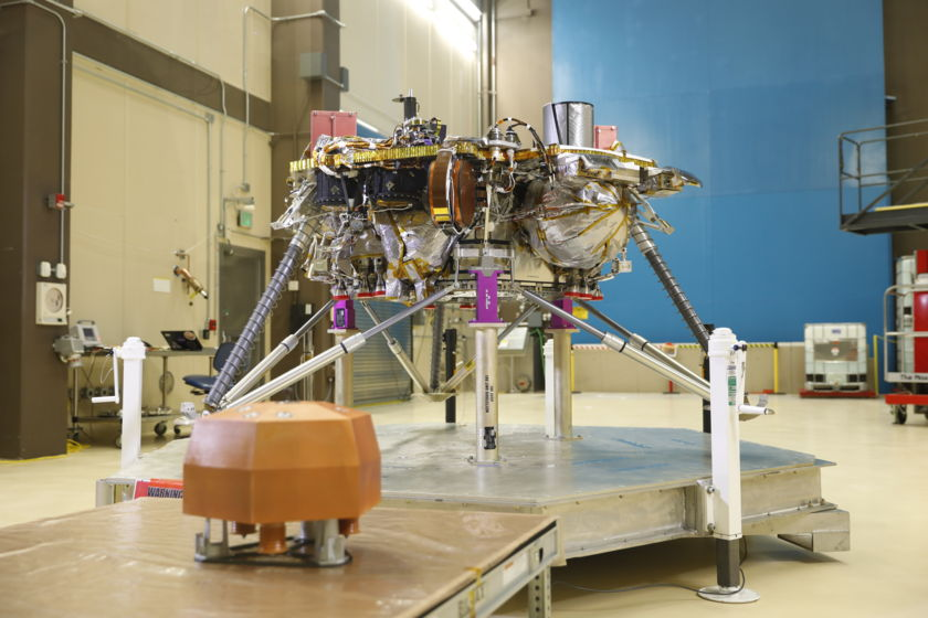Mars InSight ready for thermal vacuum testing