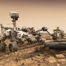 NASA Mars 2020 rover (artist's concept)
