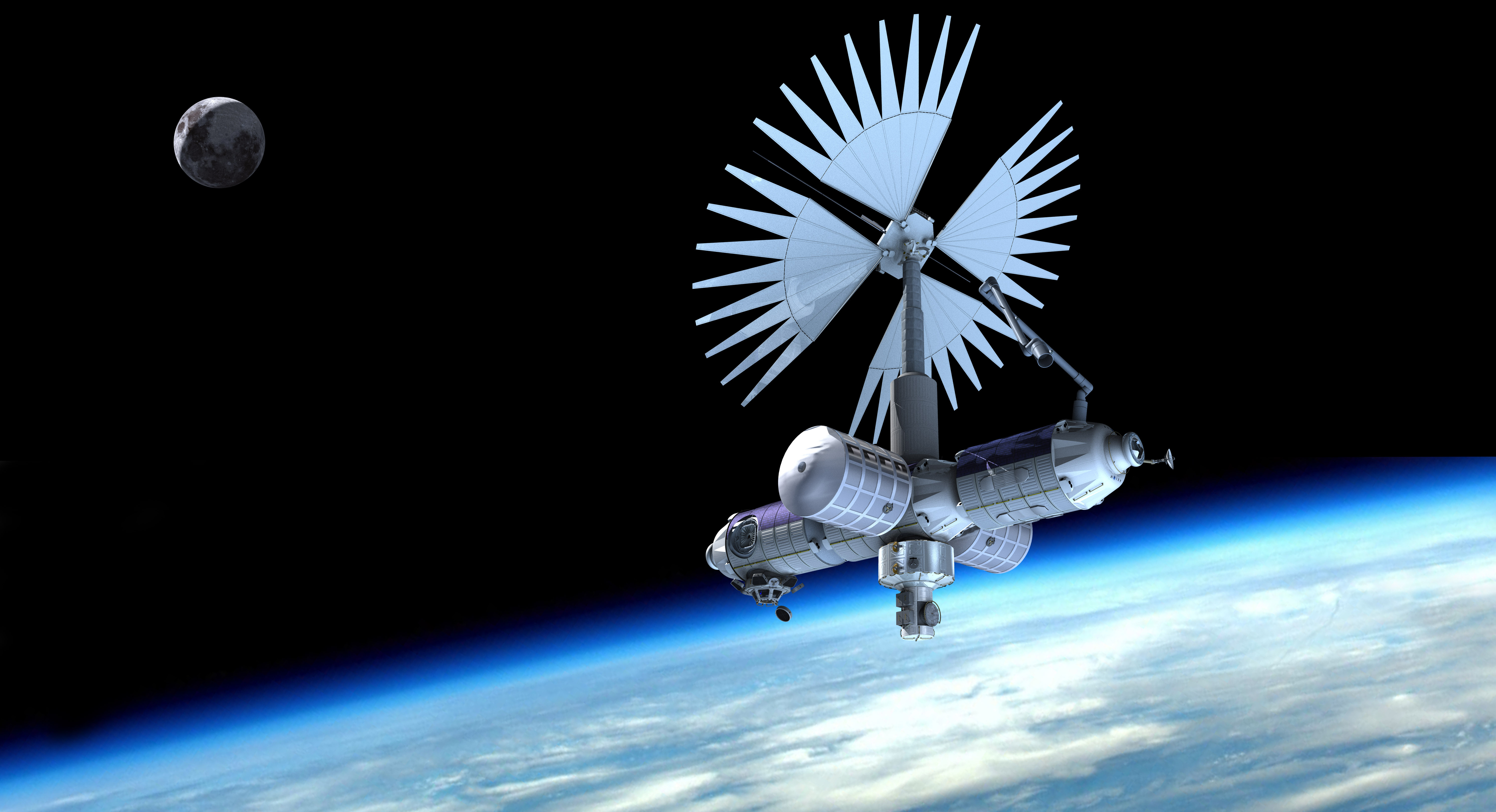 spacecraft in space - photo #22