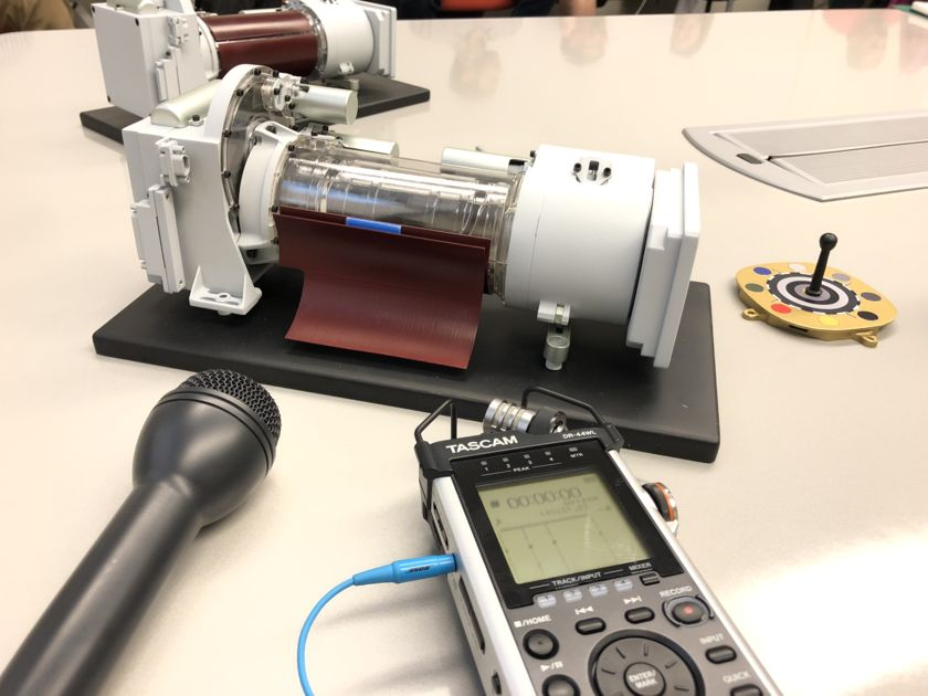 Mastcam-Z camera units
