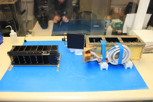 LightSail 2 and P-POD before integration