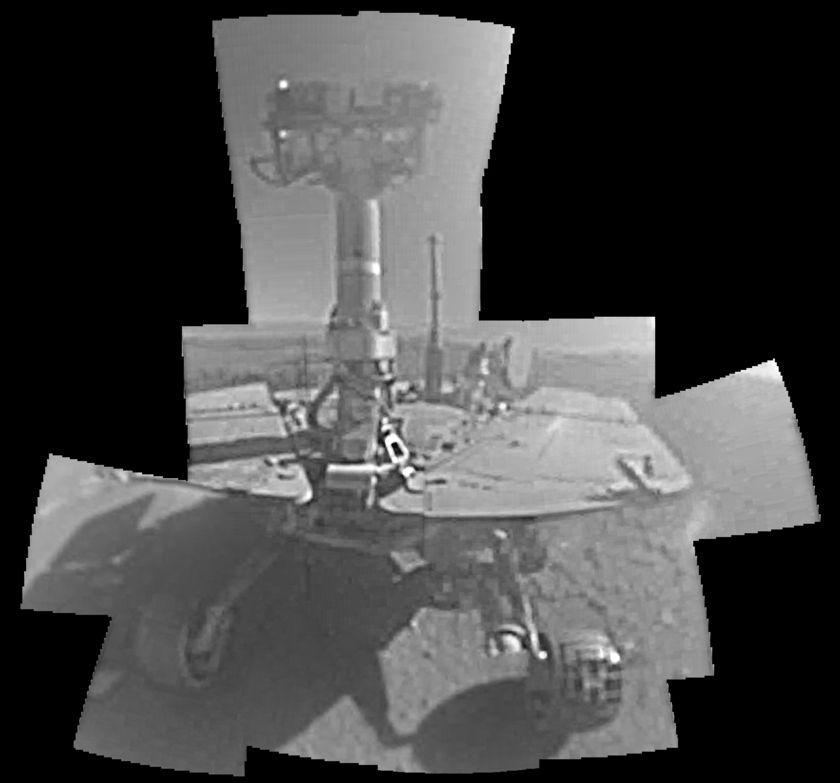 Opportunity sol 5000 - 5006 selfie