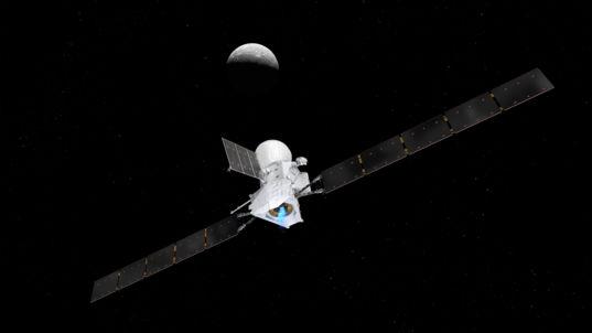 BepiColombo approaching Mercury (1)
