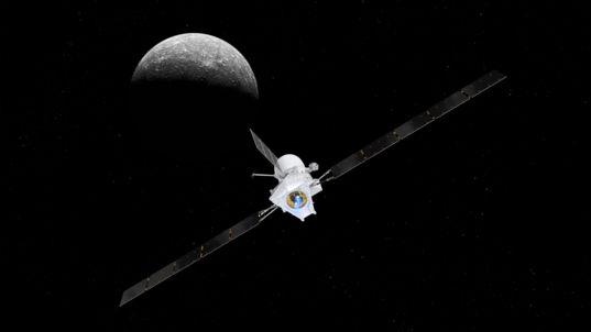 BepiColombo approaching Mercury (2)