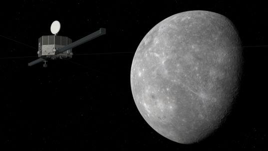 Mercury Magnetospheric Orbiter at Mercury