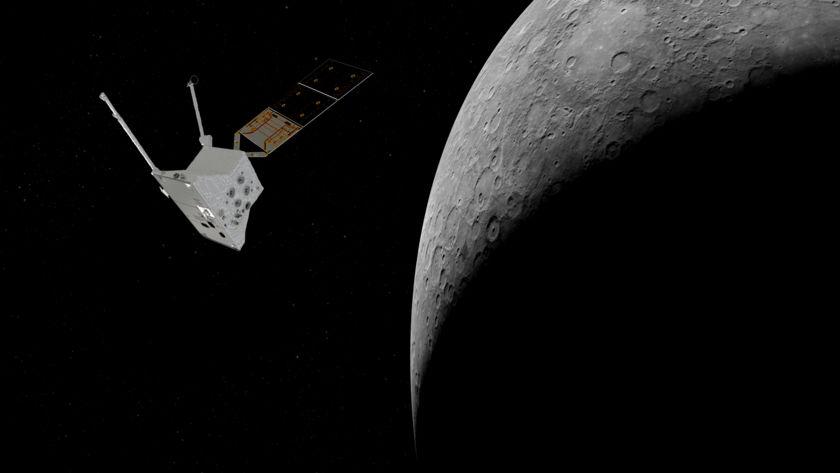 Mercury Planetary Orbiter at Mercury