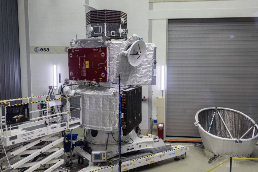 BepiColombo, stacked
