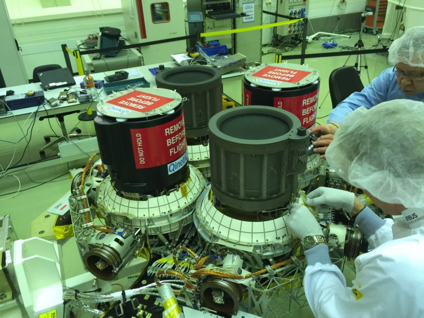 BepiColombo thrusters