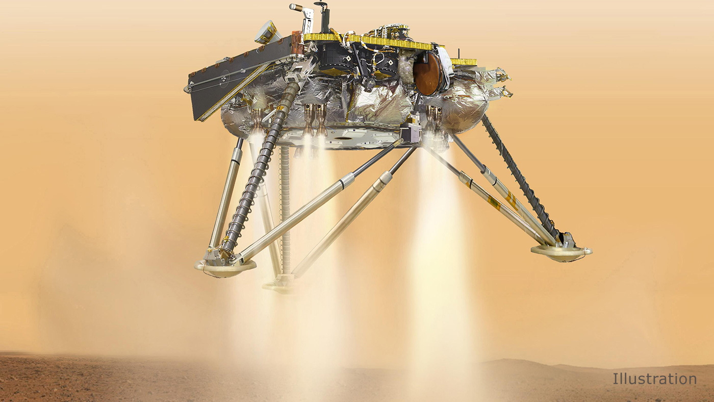 mars insight landing tv - photo #2
