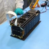 LightSail 2 after vibration testing