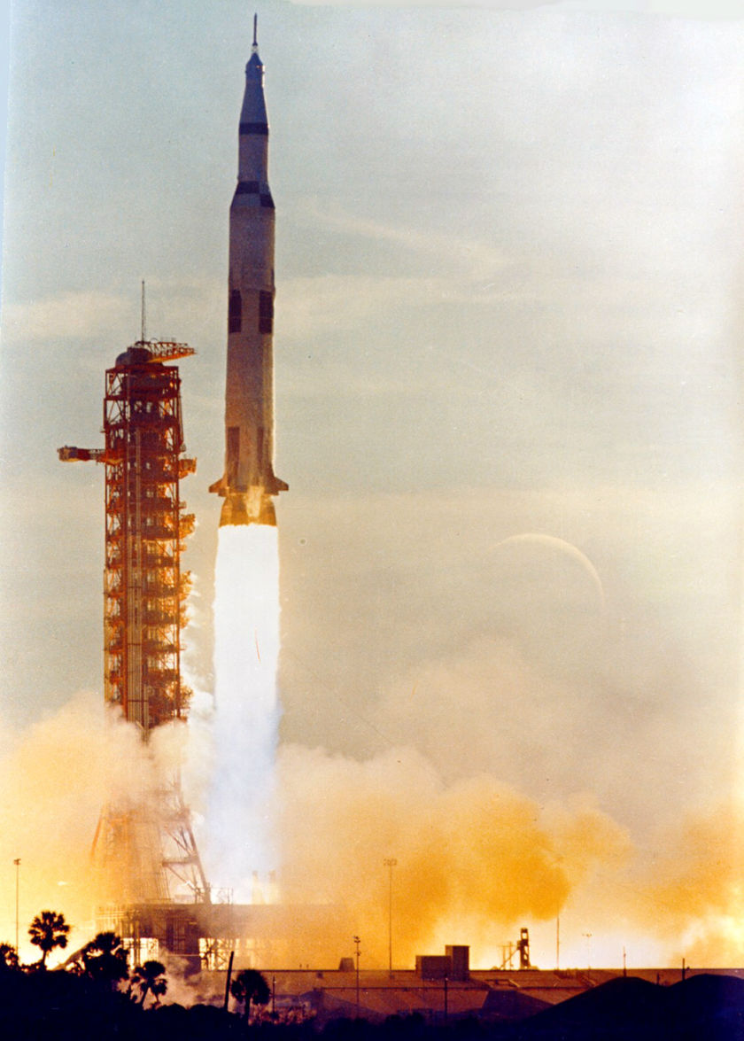 Liftoff of Apollo 8