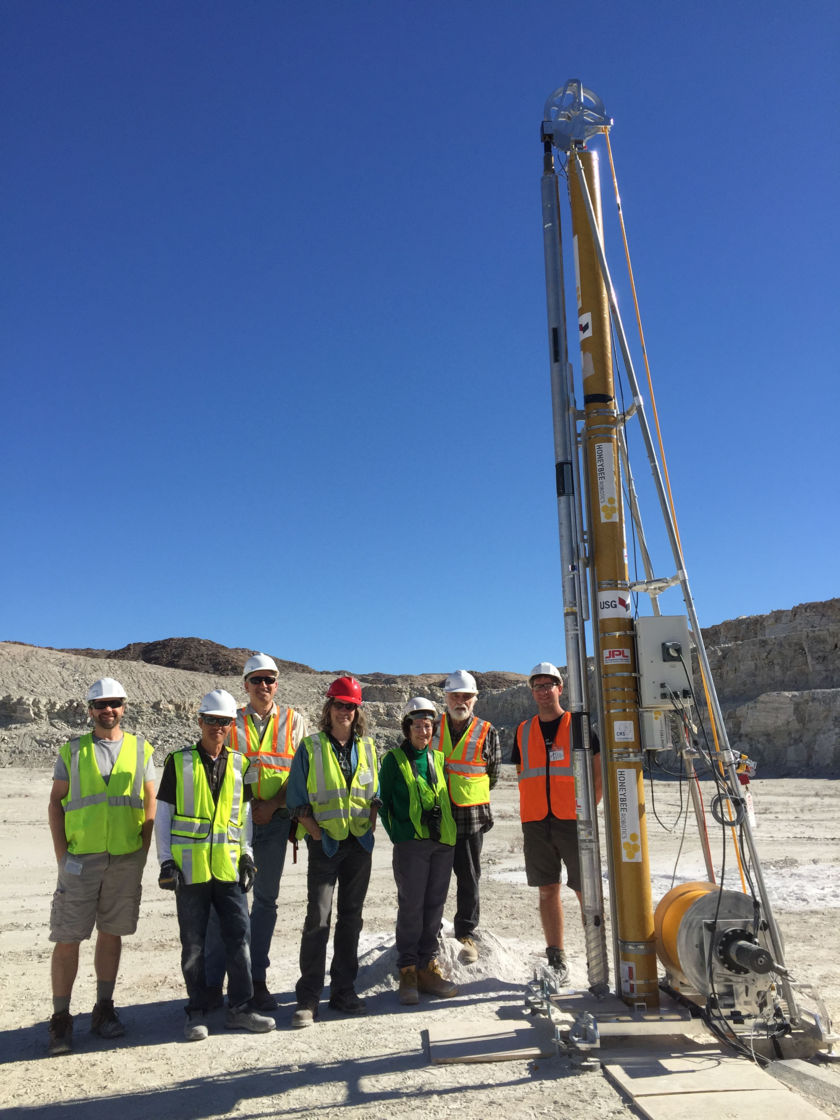 Planetary Deep Drill in 2018