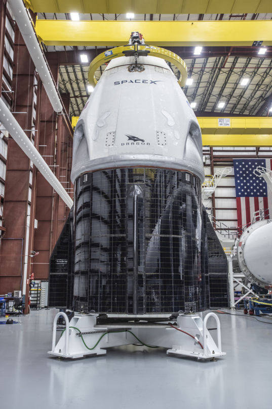 SpaceX Crew Dragon ready for test flight