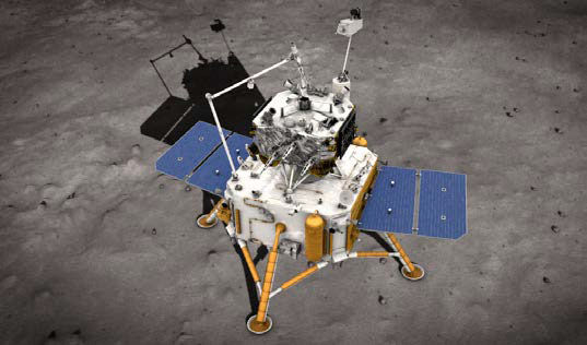 Chang'e-5 sample return mission