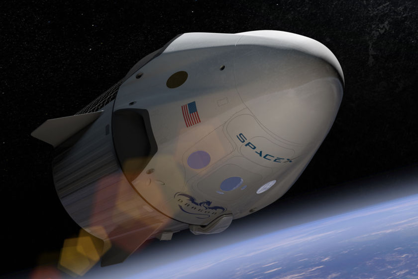 SpaceX Crew Dragon artist's concept