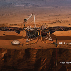 InSight's heat probe instrument (artist's concept)