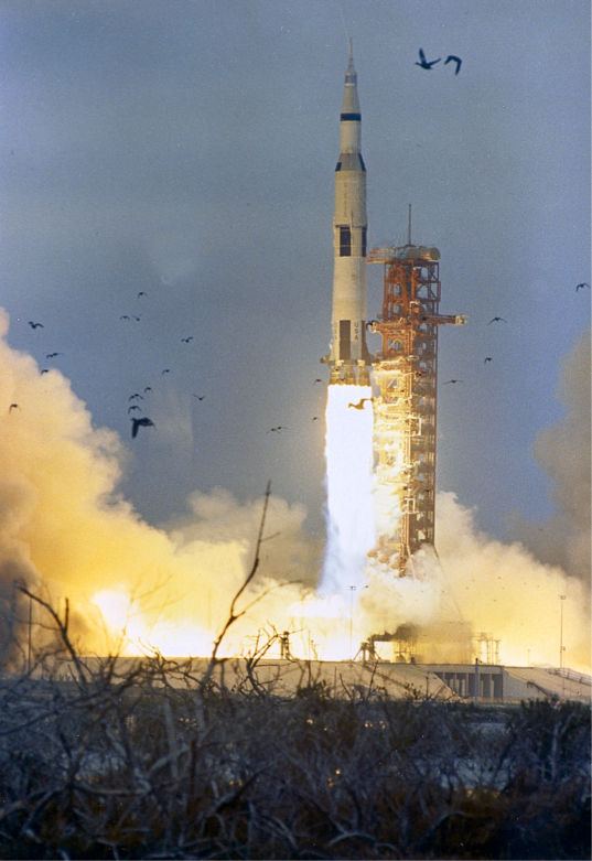 Apollo 9 liftoff