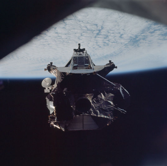 Apollo 9 lunar module ascent stage