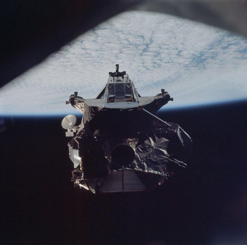 Apollo 9 lunar module ascent stage