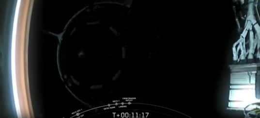 Crew Dragon Demo-1 deployment