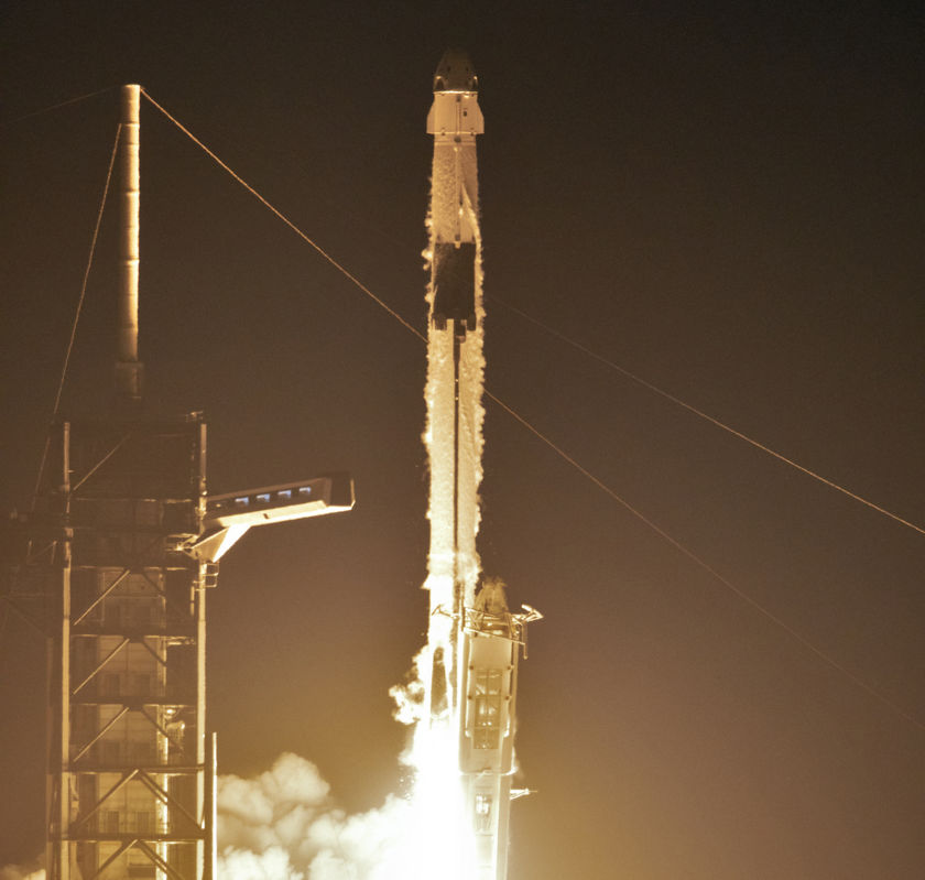 Crew Dragon Demo-1 liftoff