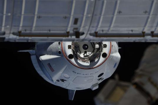 Crew Dragon approach 3
