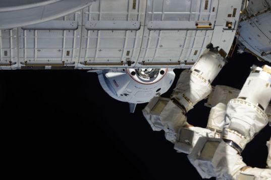 Crew Dragon approach 2