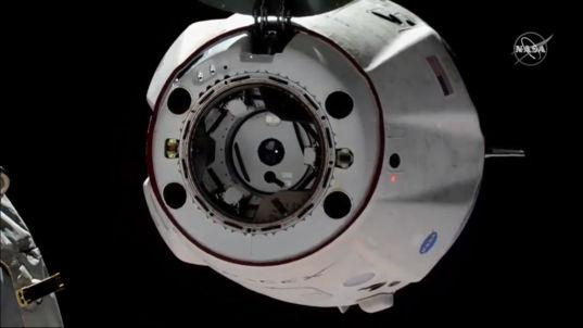 Crew Dragon departs ISS