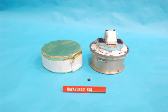 Hayabusa2 SCI experiment