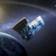 NEOWISE artist's concept