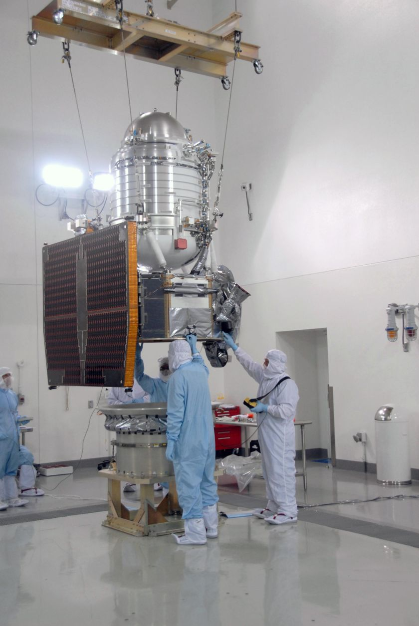 NEOWISE launch processing