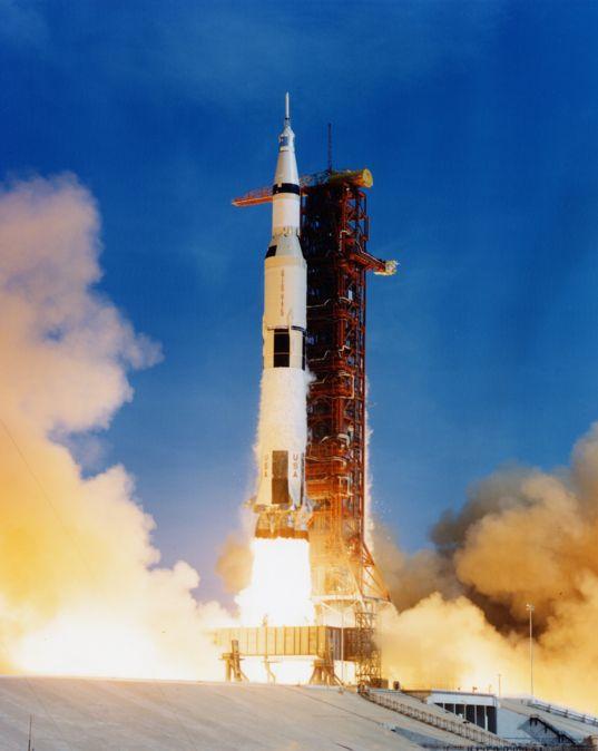 Apollo 11 liftoff