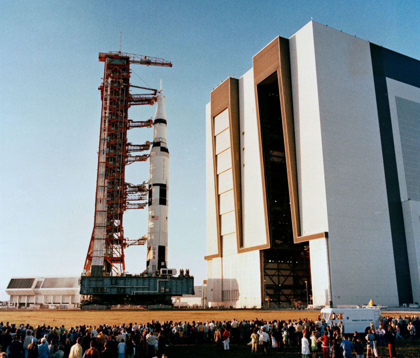 Saturn V rollout
