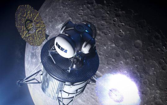 Artemis crewed lunar lander