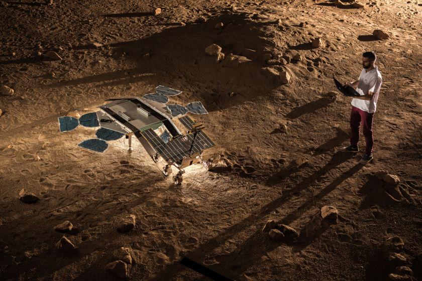 Testing the ExoMars Rover's Deployment