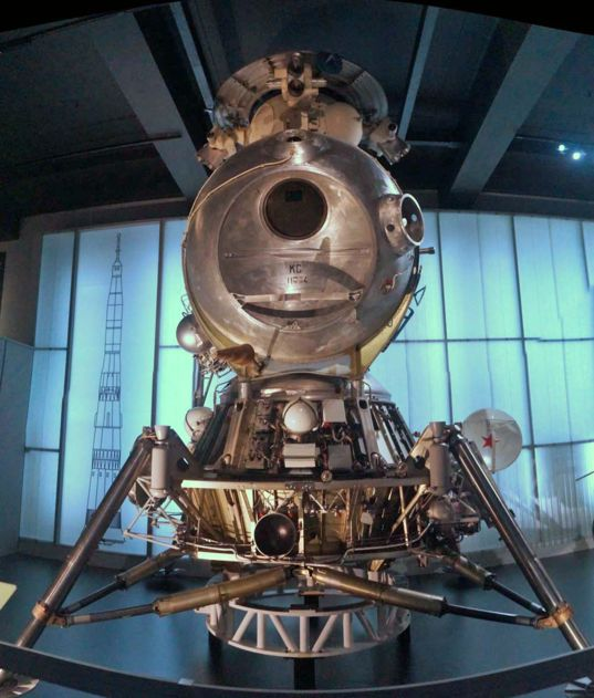 Soviet LK-3 engineering test unit (1968)