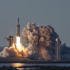 SpaceX Falcon Heavy Arabsat-6A launch