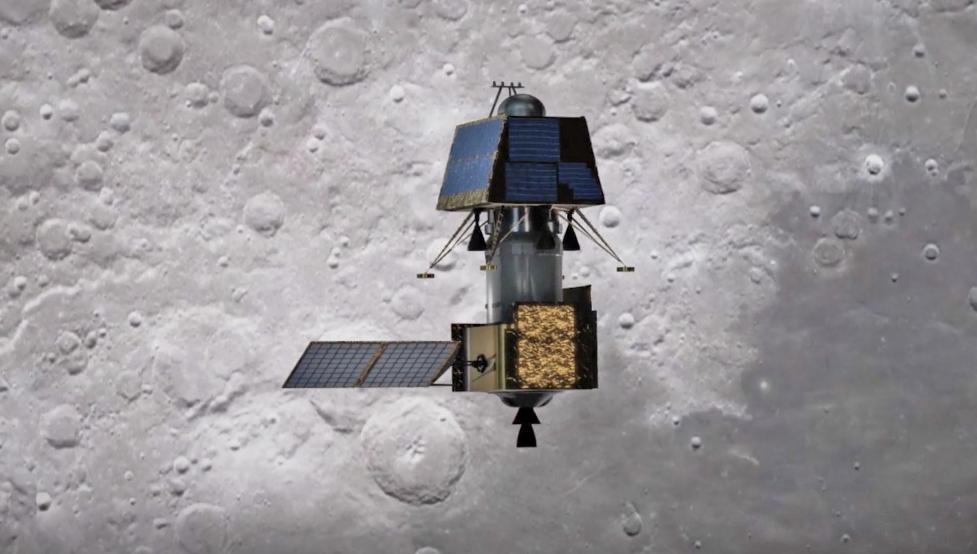 Výsledok vyhľadávania obrázkov pre dopyt chandrayaan 2 orbiter