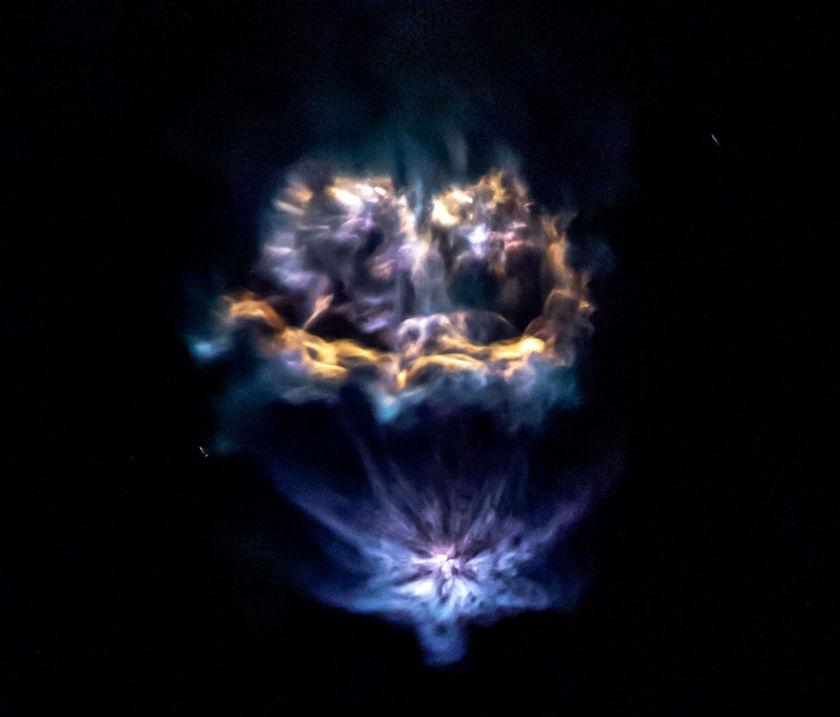 LightSail 2 launch nebula