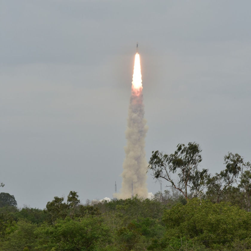 Ascent of Chandrayaan-2