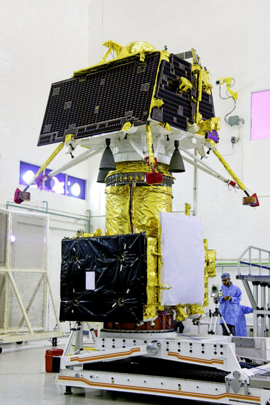 Chandrayaan-2 Integrated Spacecraft