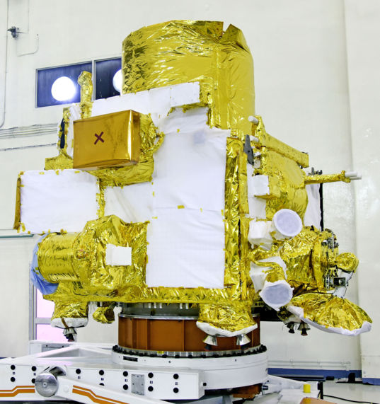 Chandrayaan-2 Orbiter in the Clean Room