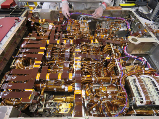 Mars 2020 Rover Open Belly