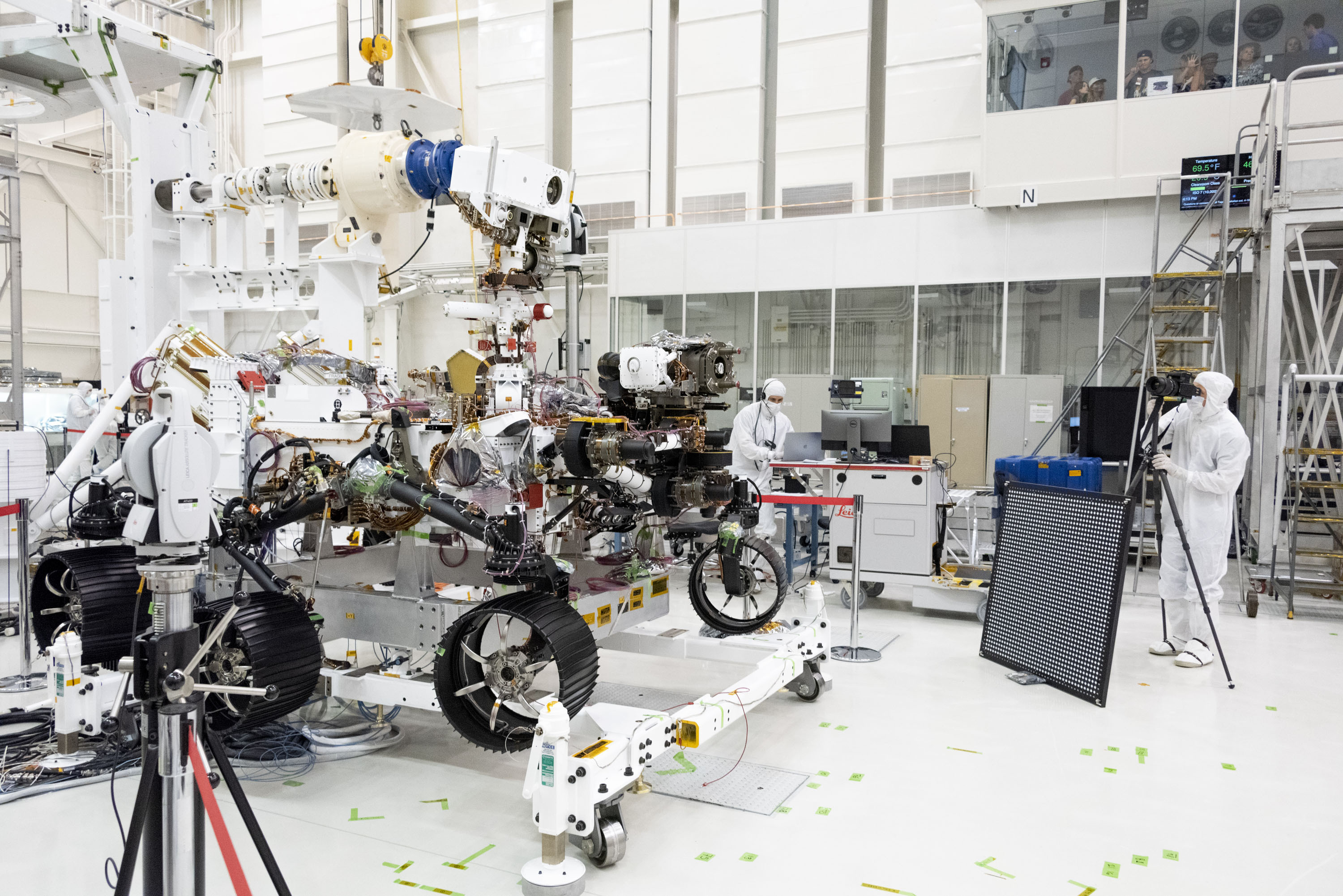 Mars 2020 Rover almost Assembled
