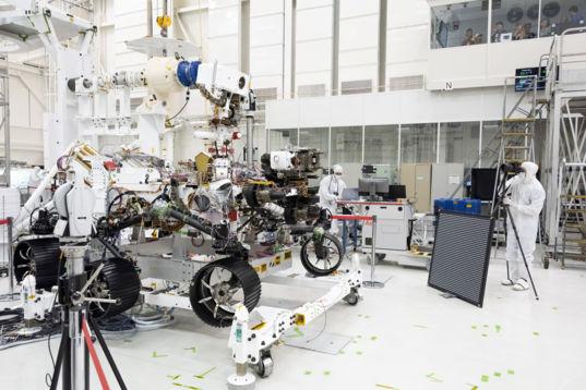 Mars 2020 Rover Front Camera Calibration