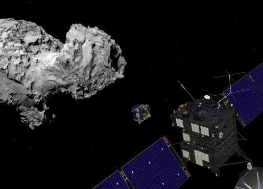 Rosetta and Philae at comet 67P/Churyumov–Gerasimenko