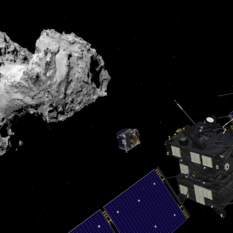 Rosetta and Philae at comet 67P/Churyumov–Gerasimenko