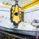 Shields up for James Webb Space Telescope